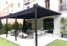 Instalación pérgola y toldos en Hotel Único de Madrid