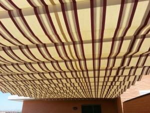 Instalación de pérgolas en varios áticos