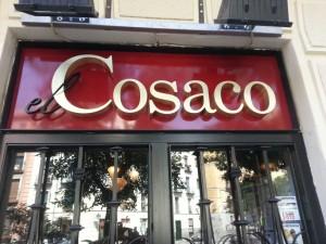 Instalación de toldos Restaurante El Cosaco, Madrid
