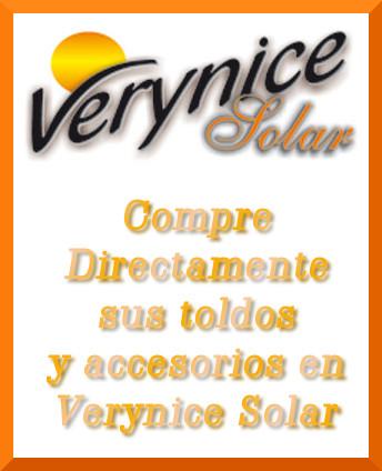 Compre directamente su toldo o componente en toldos Verynice